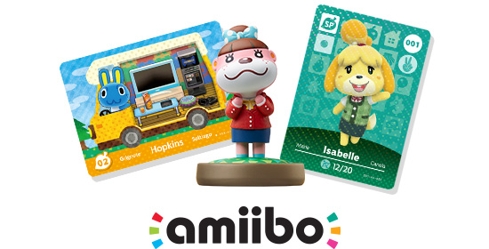 Animal Crossing amiibo cards and amiibo figures - Official